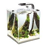 Aquael 5905546191456 Aquarium Shrimp Set Smart LED, Komplett Set Mit Morderner LED - Beleuchtung